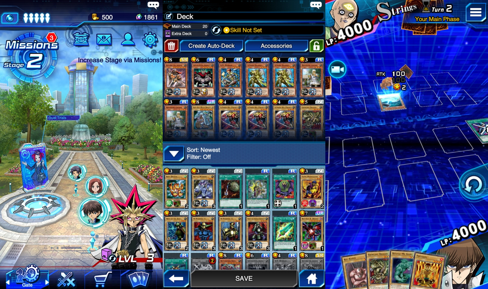Yu-Gi-Oh! Duel Links, iOS & Android Collectible Card Game (image by @XReaction)