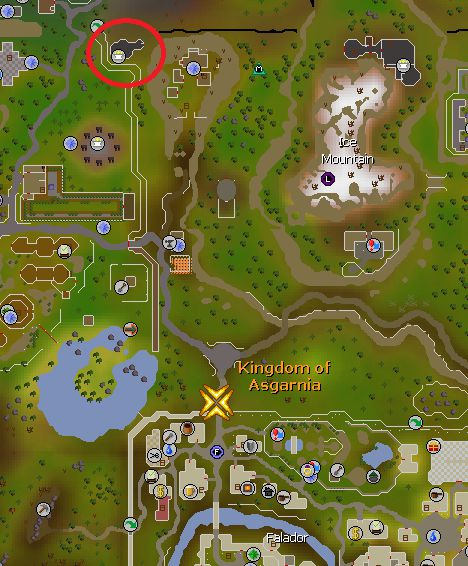 Chaos Temple Map Location, Oldschool Runescape