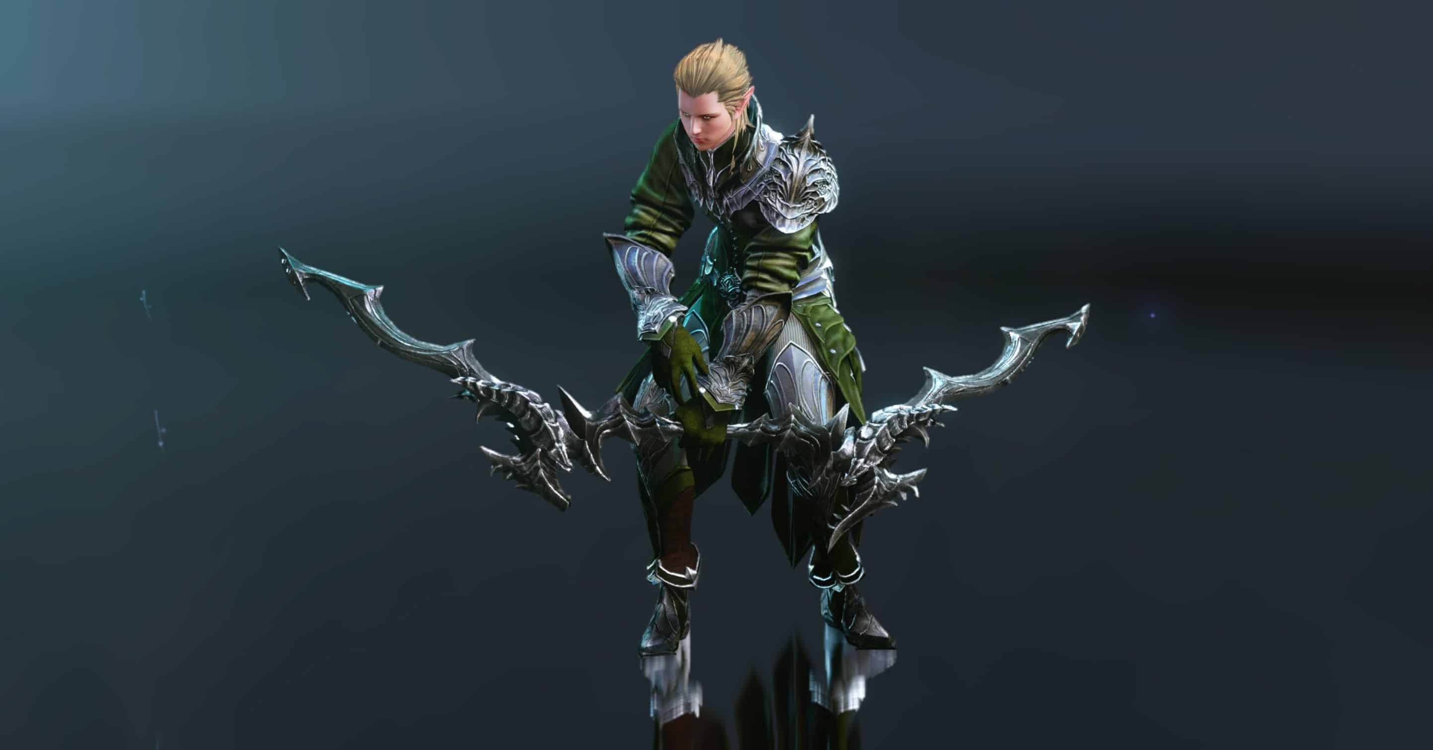 Archery Skillset, Male Elf from Nuian Alliance
