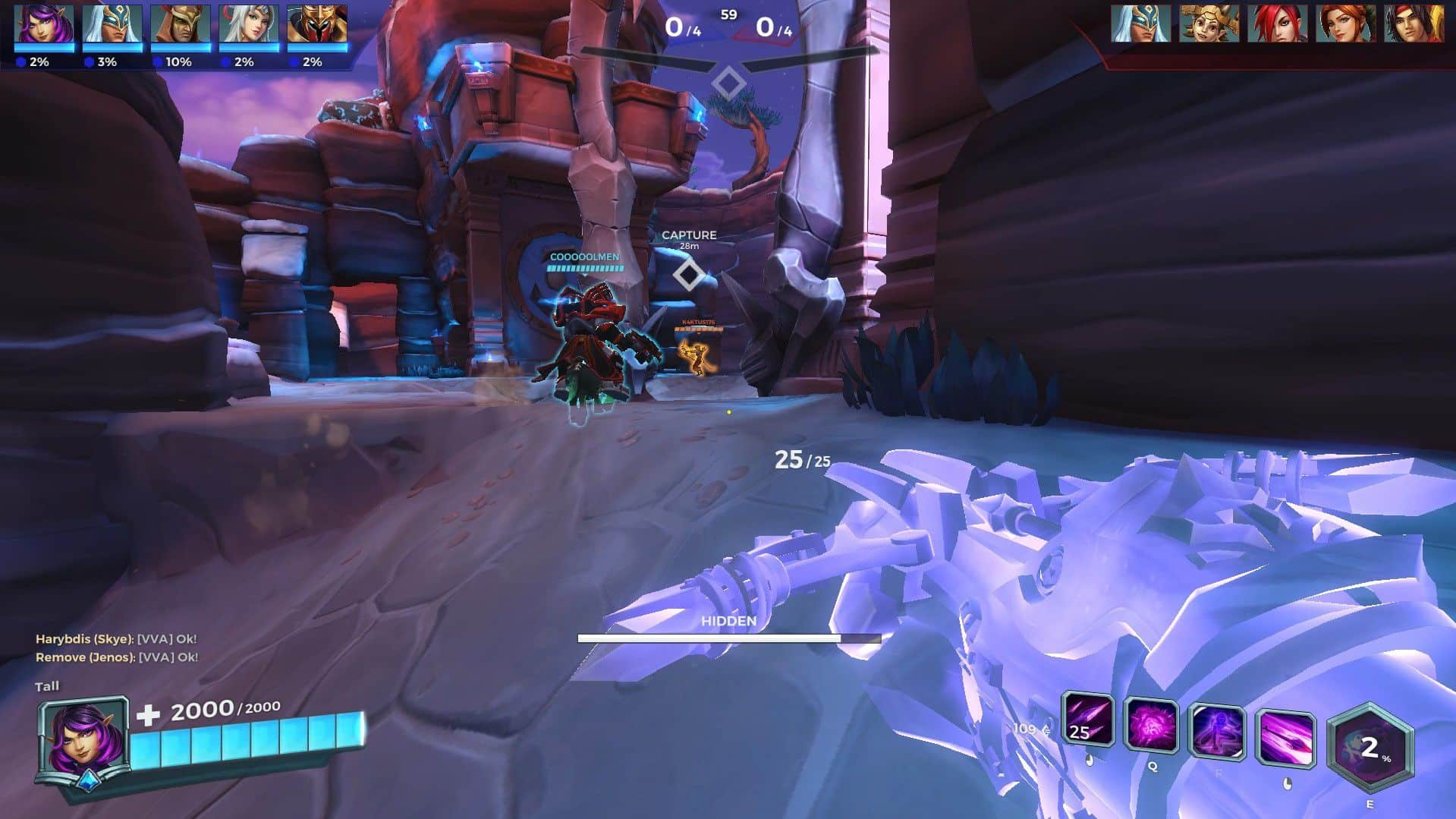 Skye, Hidden Ability,Paladins