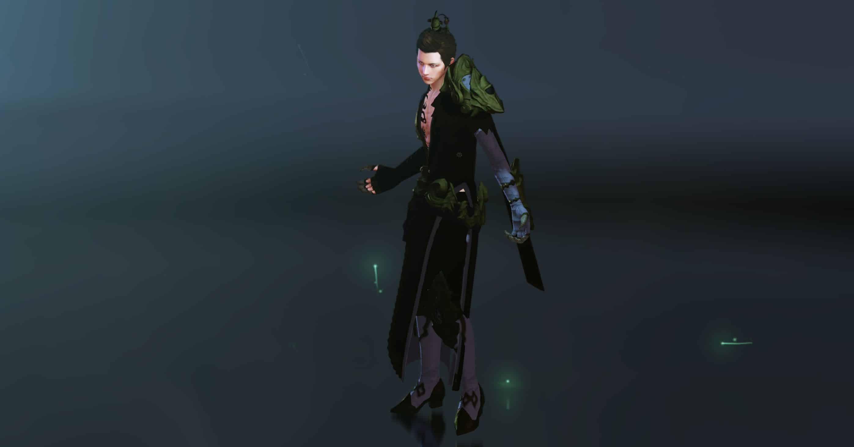 Sorcery Skillset, Male Harani from Haranyan Alliance