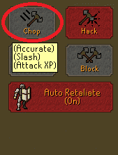 Accurate Attack Style, Old School Runescape