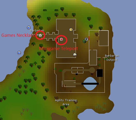 Barbarian Assault Location, Old School Runescape