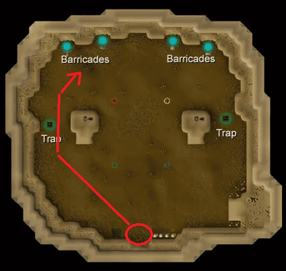 Attack's Path, Old School Runescape