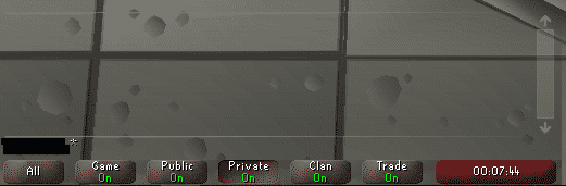 Chat Box, Old School Runescape