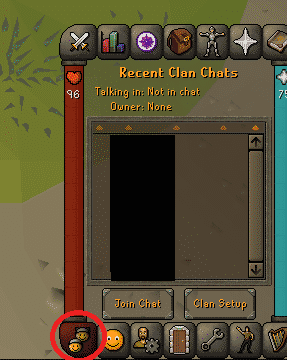 Clan Chat Tab, Old School Runescape