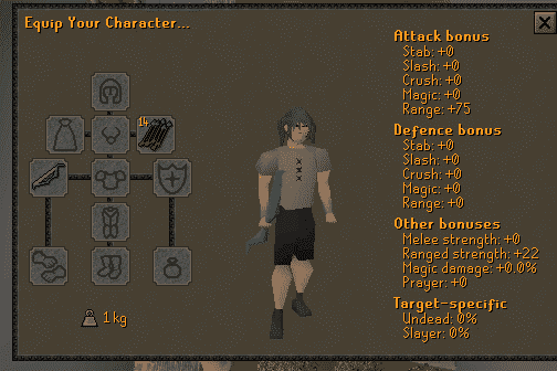 Character Stats, Old School Runescape