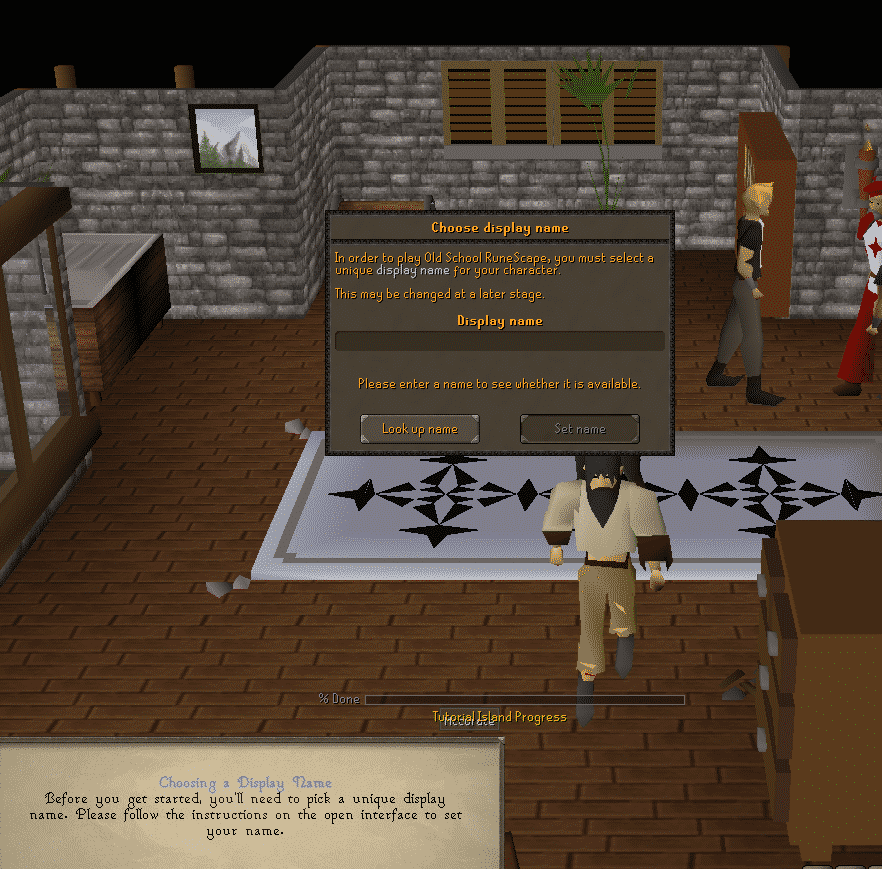 Name Creation, Old School Runescape