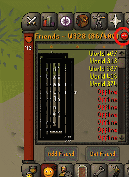 Red Emoji, Old School Runescape
