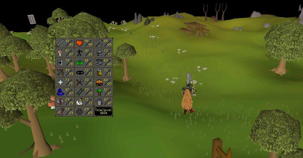 Old School Runescape - Skills Guide - Combat, Classes