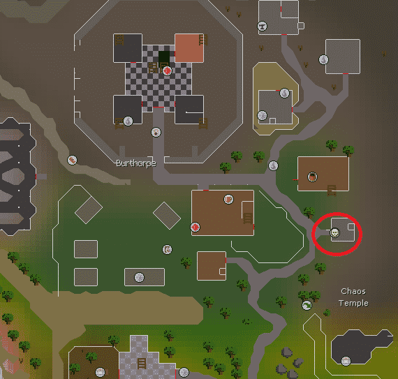 Turael Location, Old School Runescape