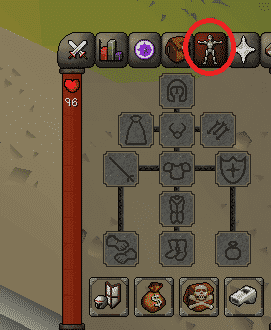 Worn Equipment, Old School Runescape