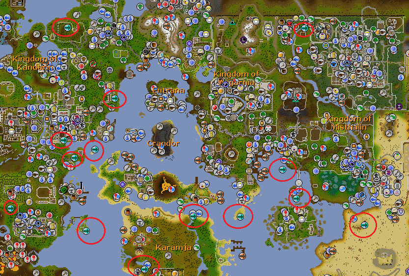 Fairy Ring Teleportation System, Old School Runescape