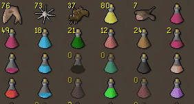P2P Food & Potions, Old School Runescape