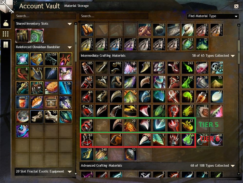 Guild Wars 2 - 5+1 Ways To Get Tier 6 Materials (Blood, Totems