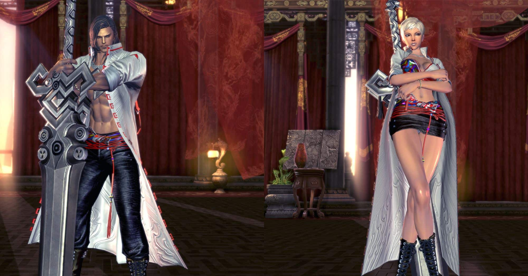 Warden, Blade & Soul Class, Male Gon & Female Gon
