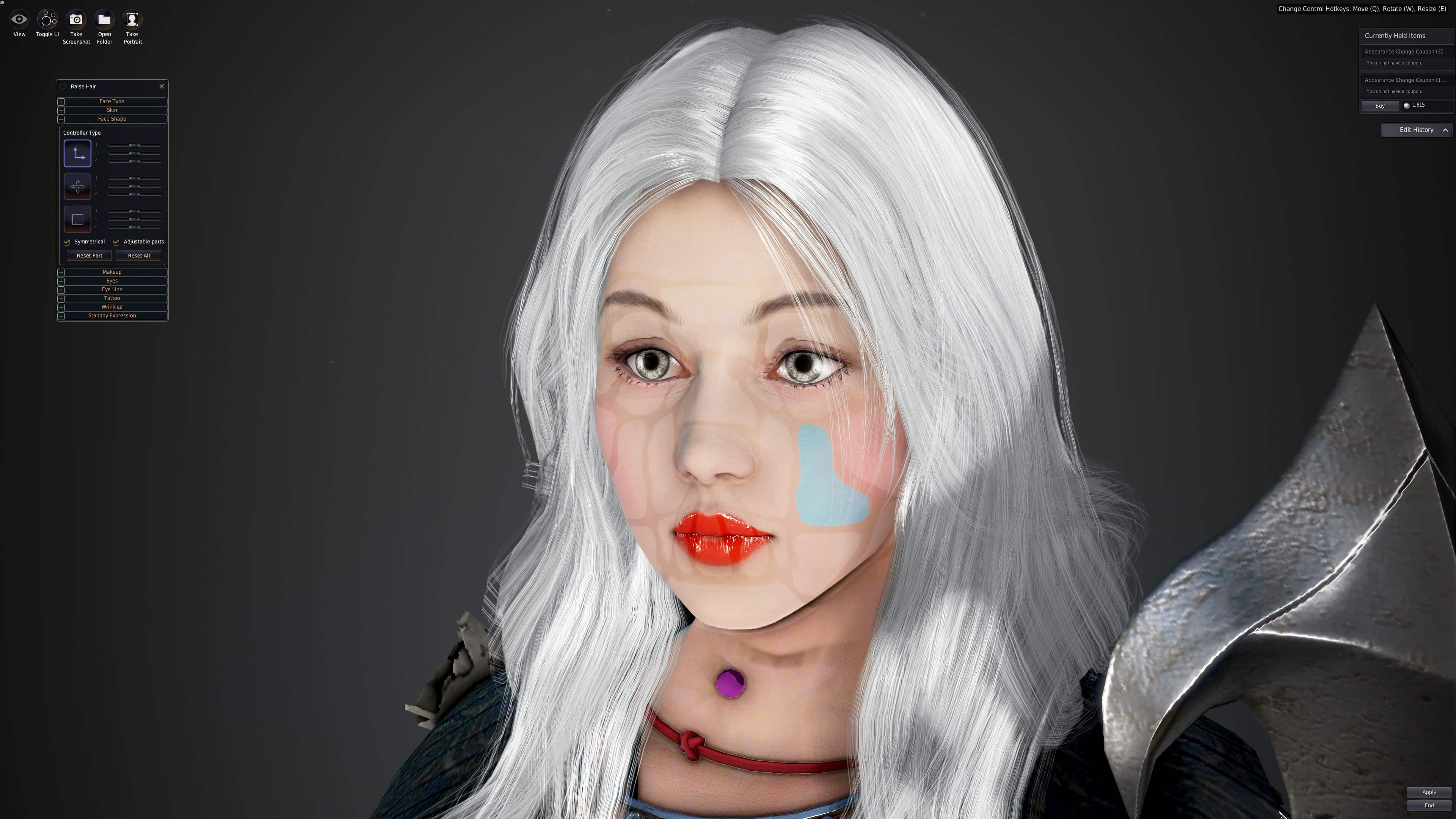 Character Creation / Customization, Black Desert Online