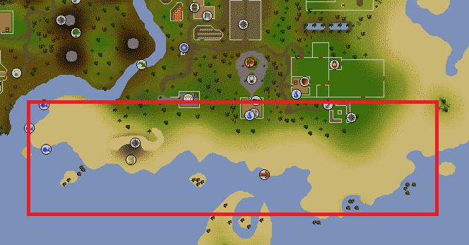 P2P Training Regions, Old School Runescape