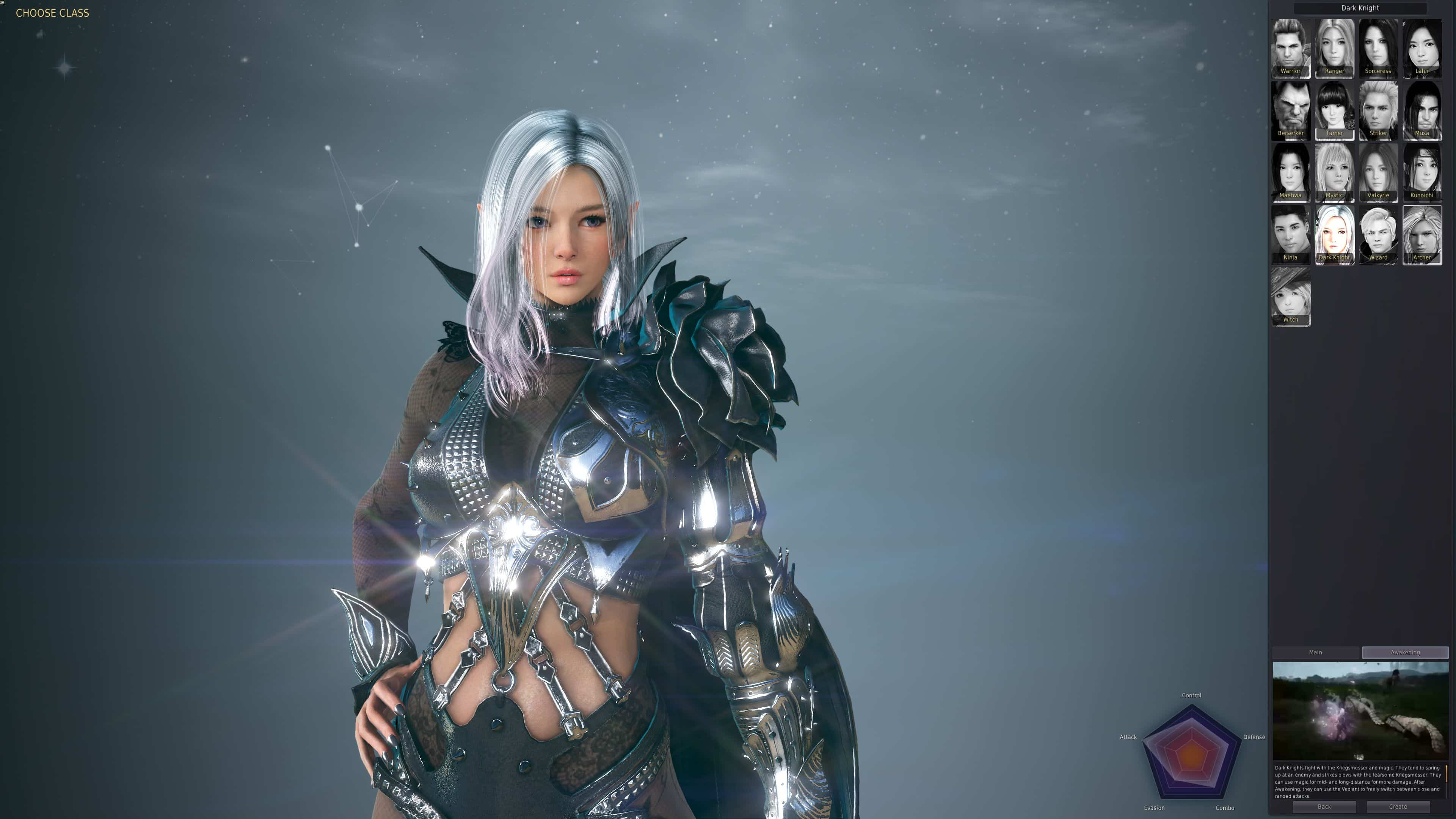 Races & Classes, Black Desert Online
