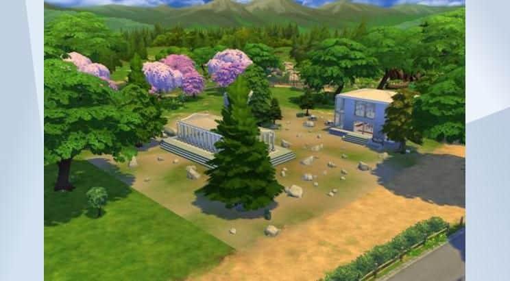 Acropolis, Sims 4
