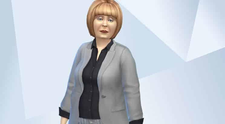 Angela Merkel, Sims 4
