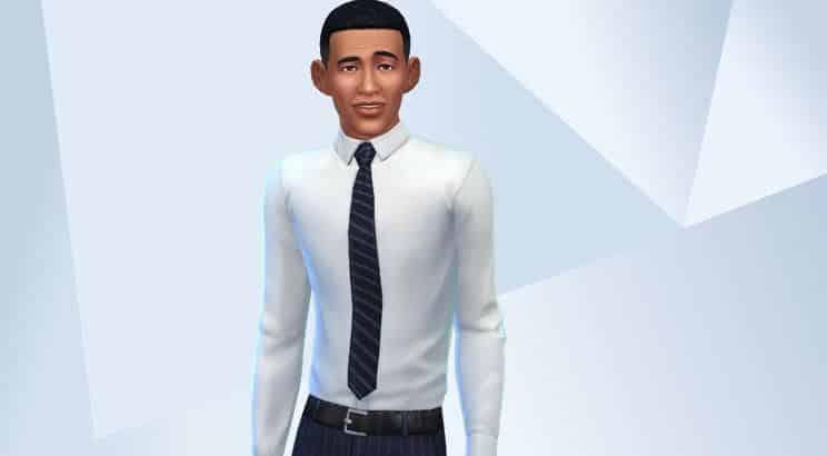 Barack Obama, Sims 4