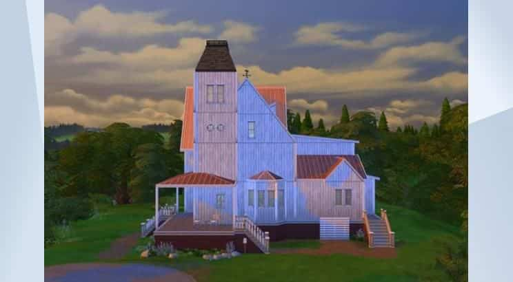 Beetlejuice, Adam's & Barbara's House, Sims 4