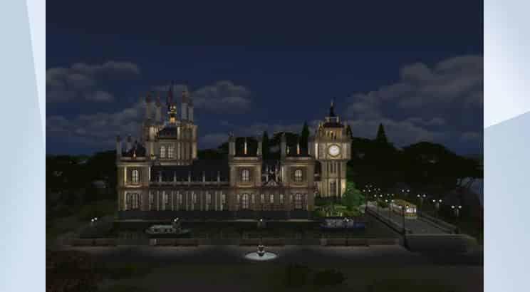 Big Ben, UK, Sims 4