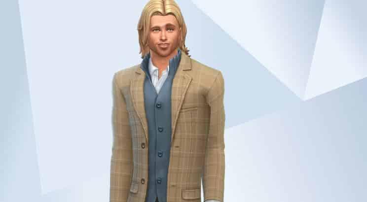Brad Pitt, Sims 4