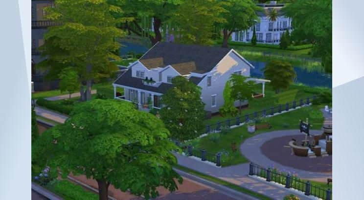 Buffy The Vampire Slayer. Buffy Summer's house, Sims 4