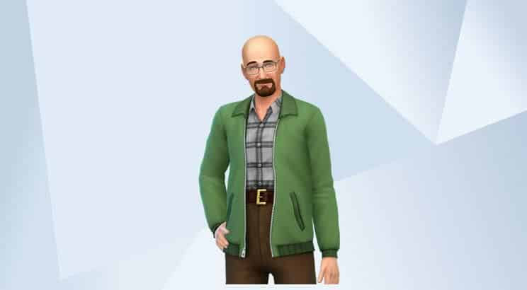 Bryan Cranston, Sims 4