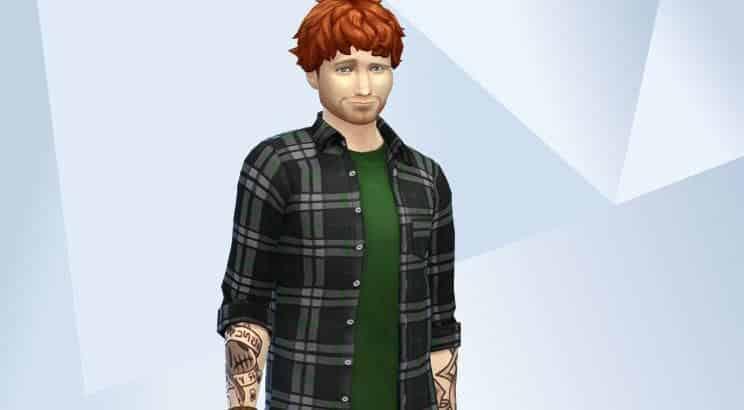 Ed Sheeran, Sims 4