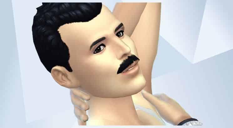 Freddie Mercury, Sims 4