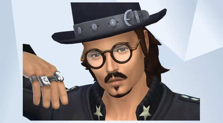 Johnny Depp, The Sims 4