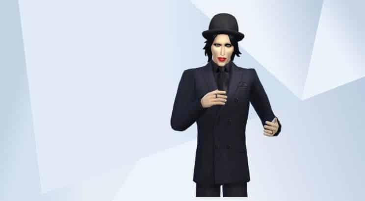 Marilyn Manson, Sims 4