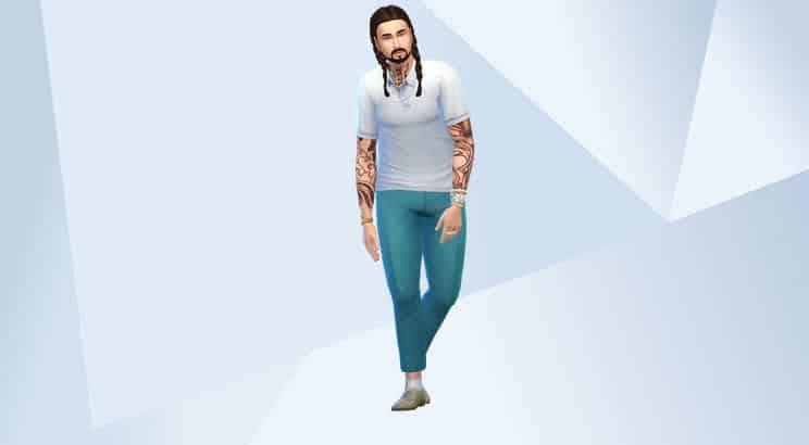 Post Malone, Sims 4