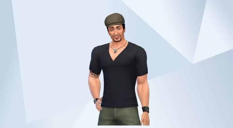 Sylvester Stallone, Sims 4