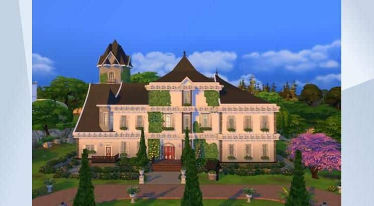 Cinderella, Lady Termain's Mansion, Sims 4