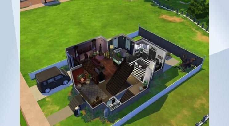 Despicable Me, Gru's Home, Sims 4