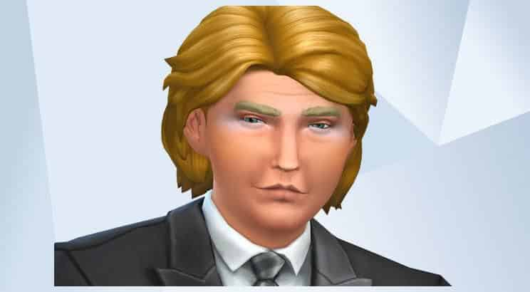 Donald Trump, Sims 4