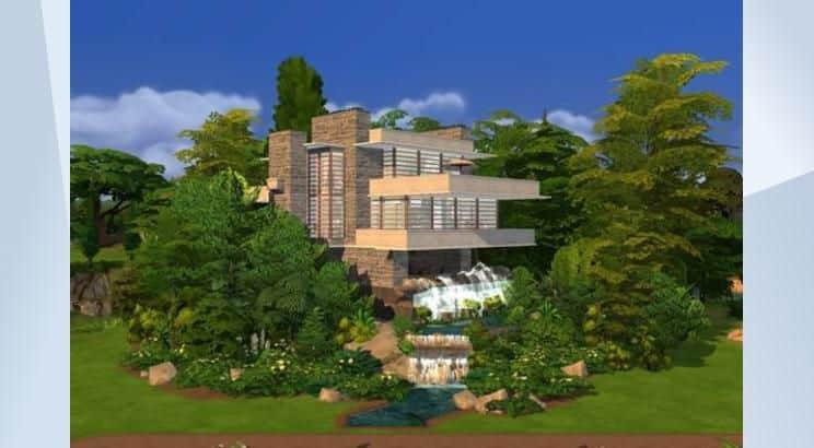 Fallingwater, Pennsylvania, Sims 4