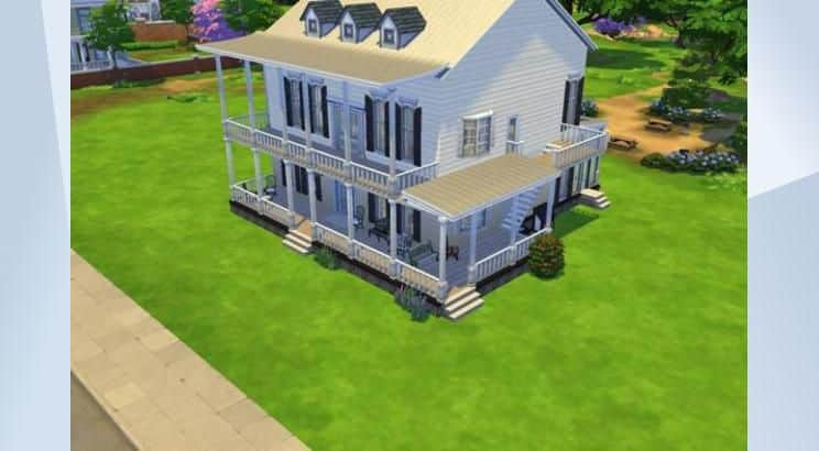 Forrest Gump, The Gump House, Sims 4