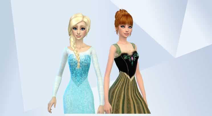 Frozen, Sims 4