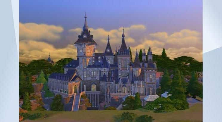 Harry Potter, Hogwarts, Sims 4