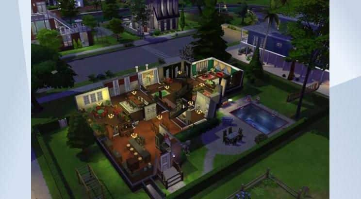 Home Alone, McCallister's House, Sims 4