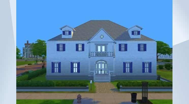 Jumanji, The Parish Mansion, Sims 4