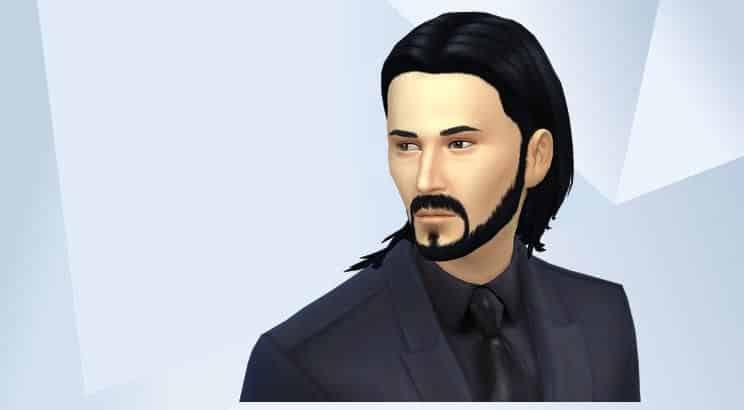 Keanu Reeves, Sims 4