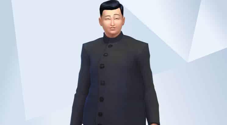 Kim-Jung Un, Sims 4