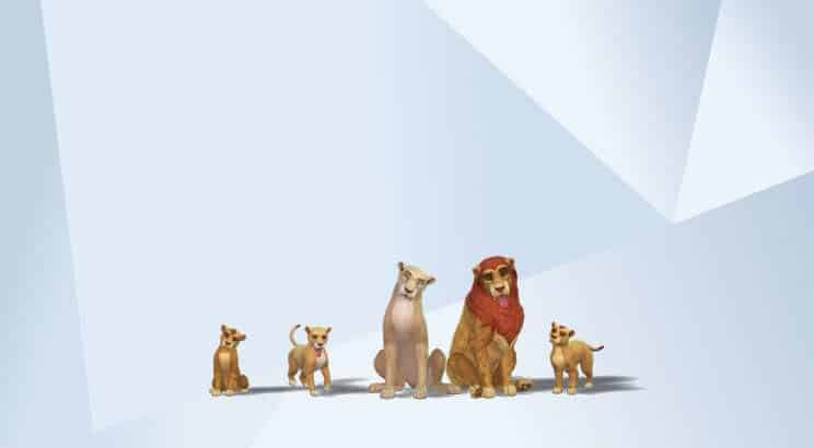 Lion King, Sims 4
