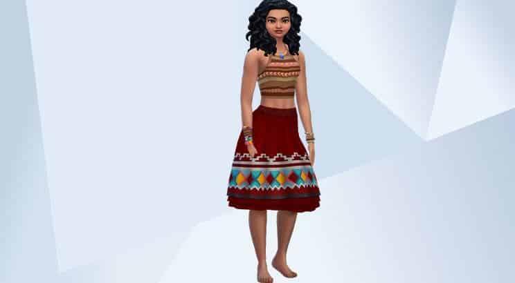 Moana, Sims 4